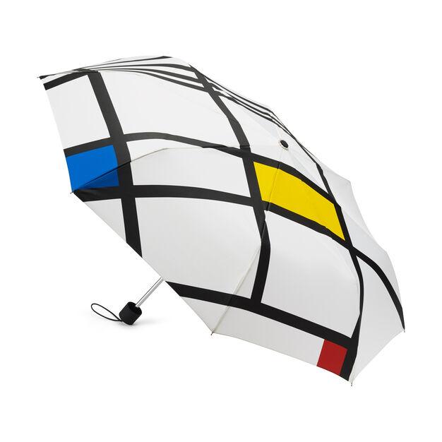 Mondrian White Mini Umbrella in color