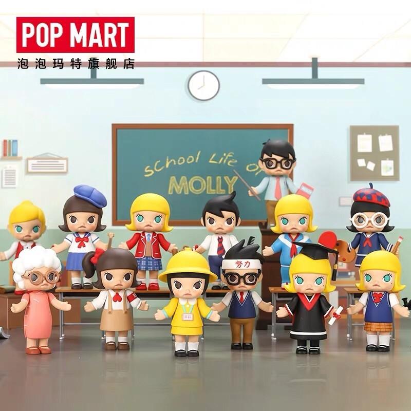 POP MART 泡泡瑪特】MOLLY 校園系列  蝦皮購物
