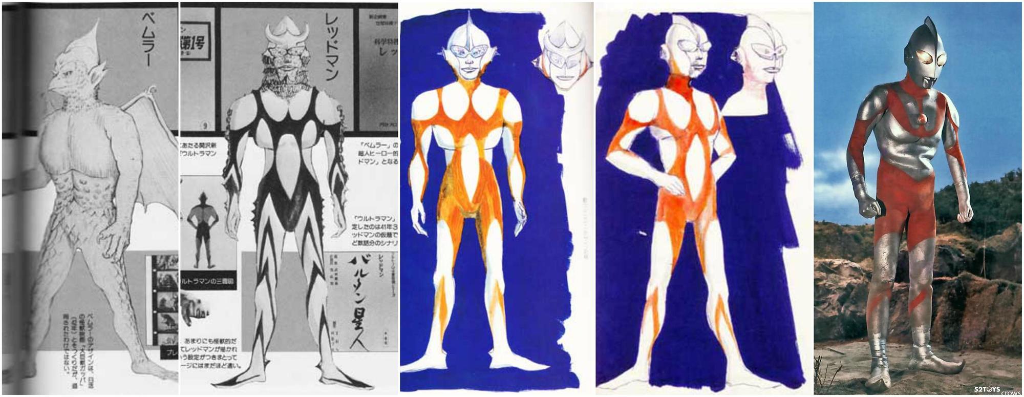"""设计稿中的顺序为""""Bemler""""-""""REDMAN""""-""""Ultraman""""-最终版"""